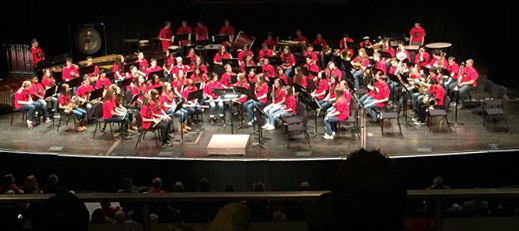 Picture of 2017 OSU Middle School Honor Band