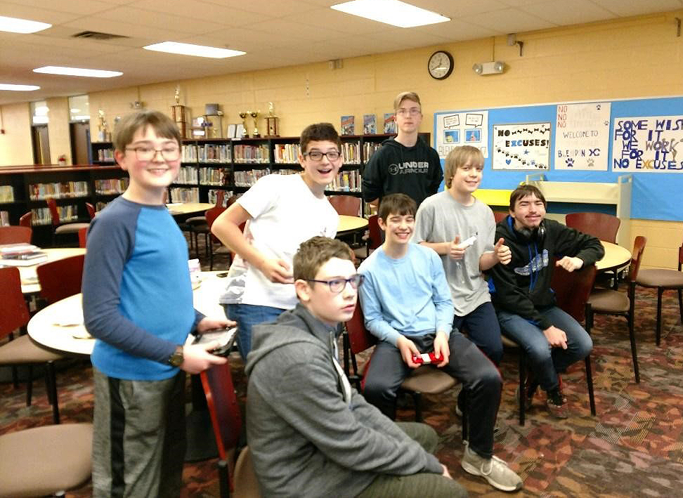 8th grade Video Game Group