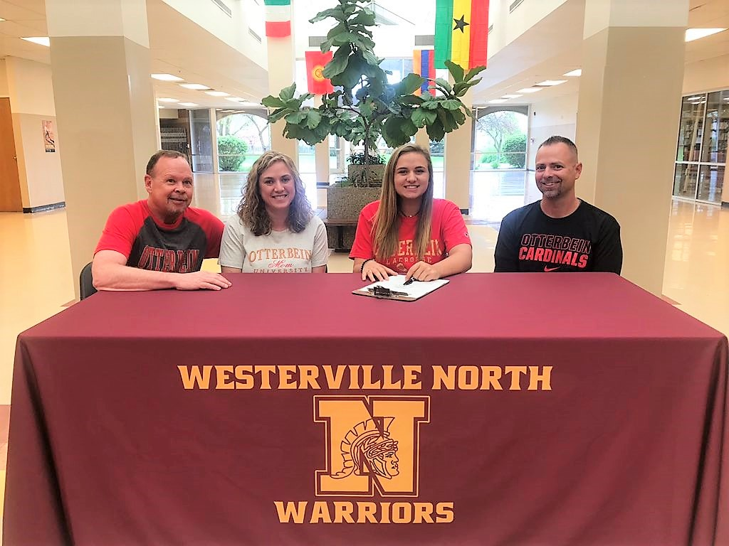Reese Burke pictured with family