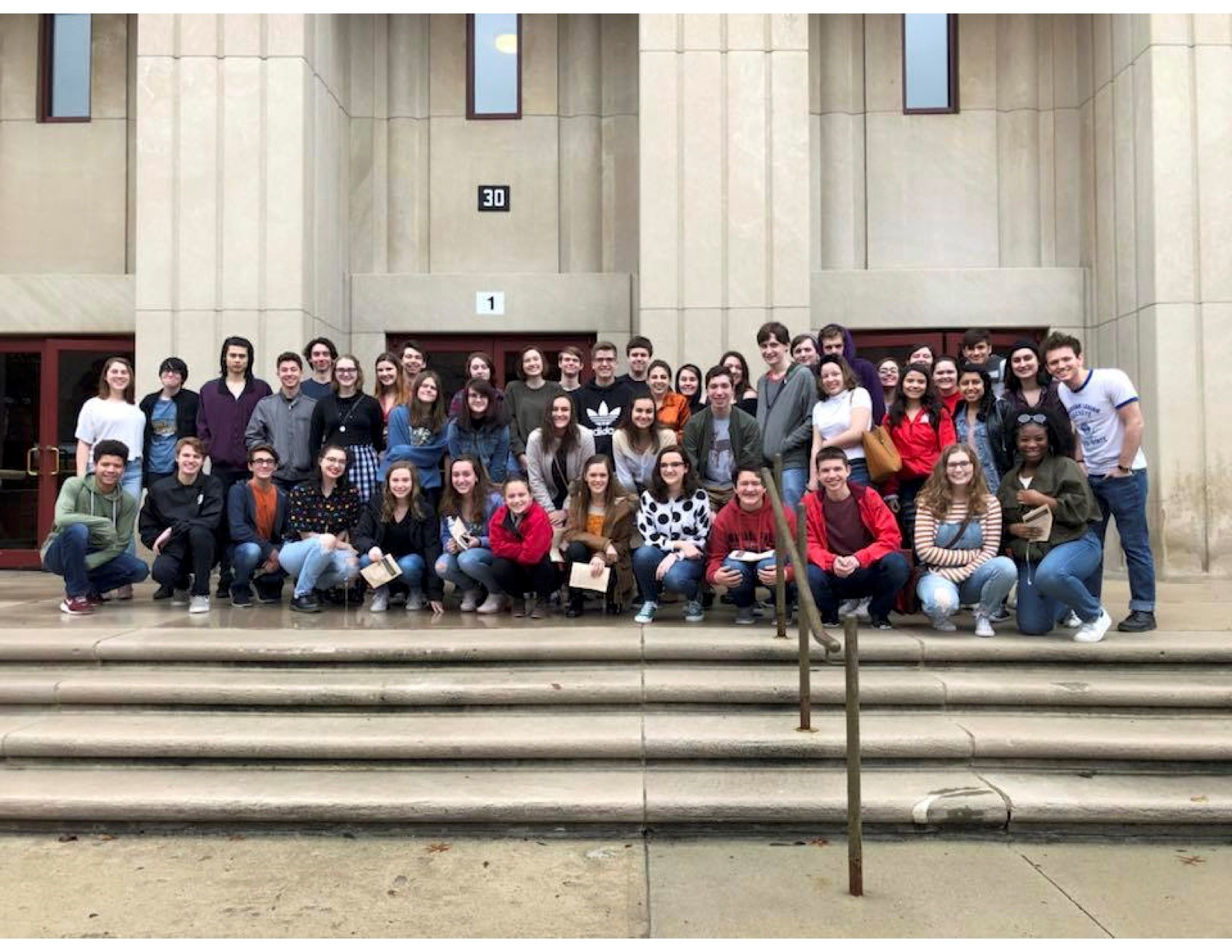 South Students Attend Otterbein's Anne Frank