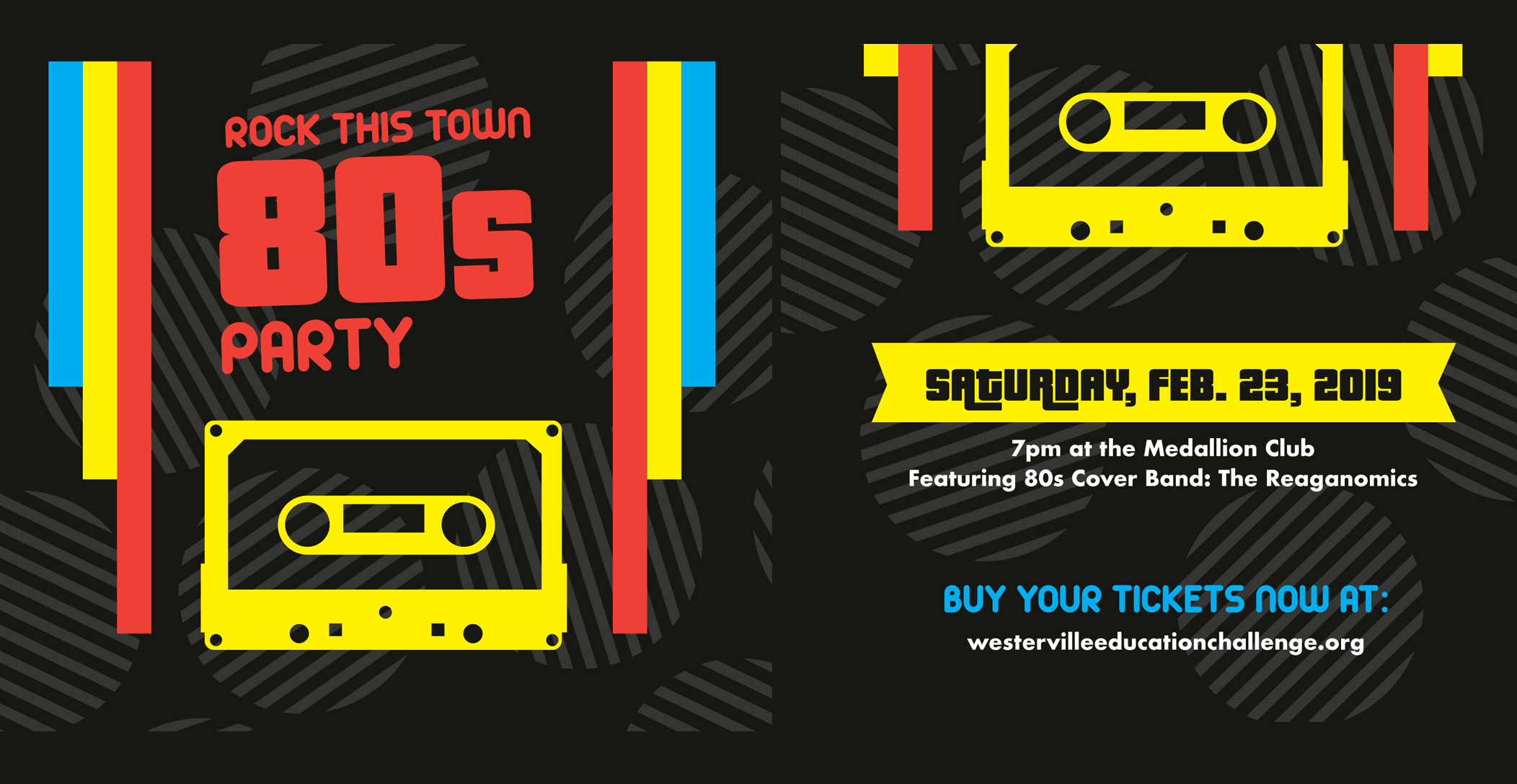 Rock This Town 80s Party
