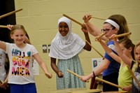 Alcott Students Enriched by Taiko Drumming Experience