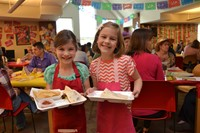 "Alcott First Graders Man Mexican Restaurant, ""El Toro Loco"""