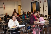 ESL Parents Learn About Community Connections