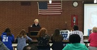 Holocaust Survivor Sofiya Karpovich Inspires Parents at ESL Meeting