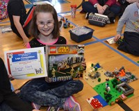 Fouse Student Wins Top Honors at Ninth Annual Lego Competition