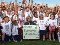 Alcott Students Raise Nearly $12,000 for their School