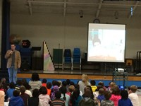 Author J. Scott Savage Inspires Elementary Students with <i>The Power of Creativity</i>