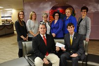 Knights of Columbus Presents Special Education Department with Generous Donation