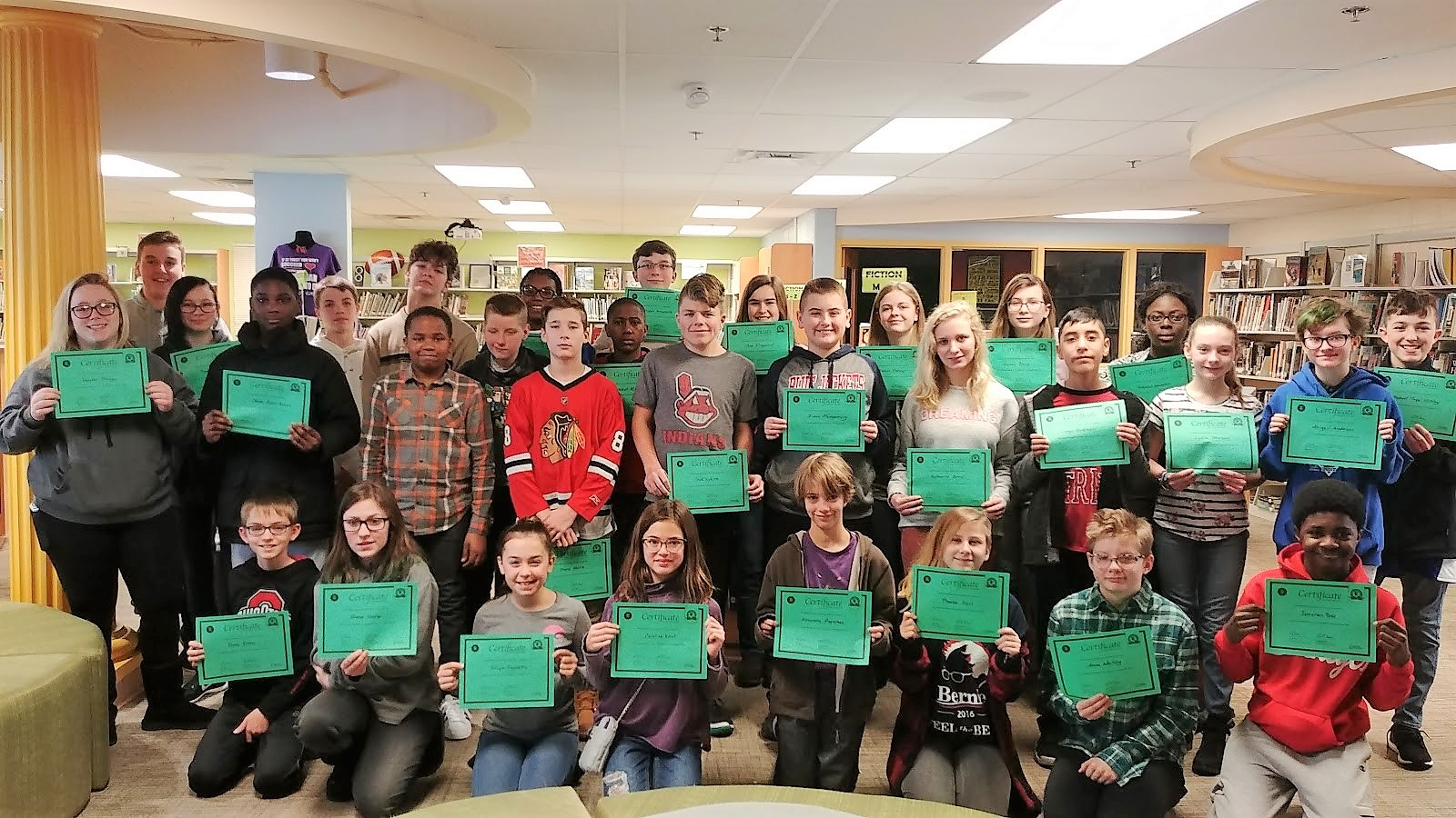 Walnut Springs Geography Bee Participants