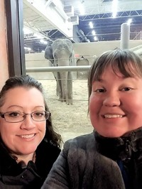 Shelli Speakman and Katie Ensell will help shape the Columbus Zoo's educational opportunities for students.