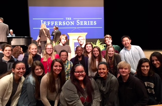 Westerville North's Journalism II and Journalism III students