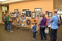 Families view secondary artwork