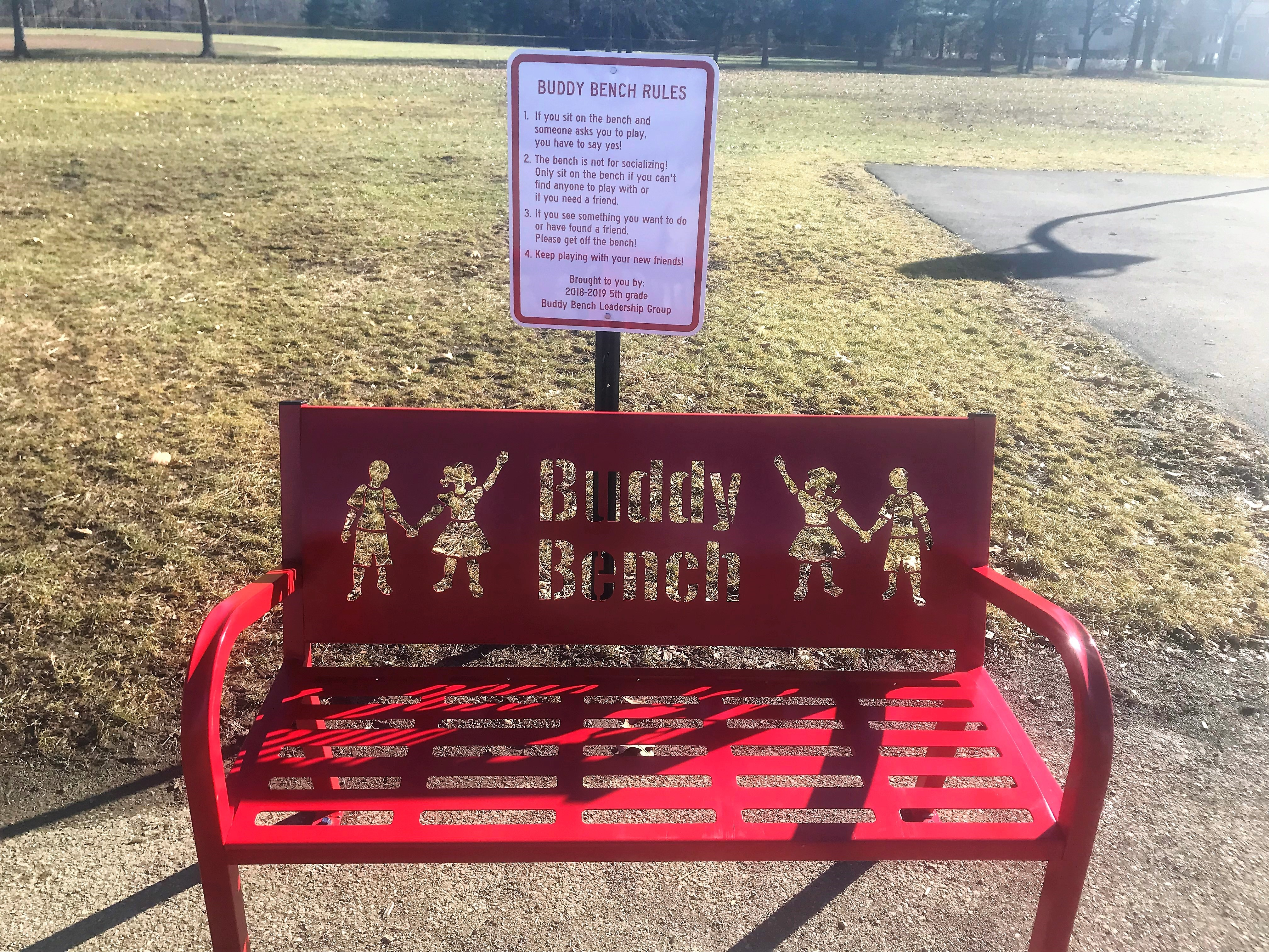 Cherrington's Buddy Bench