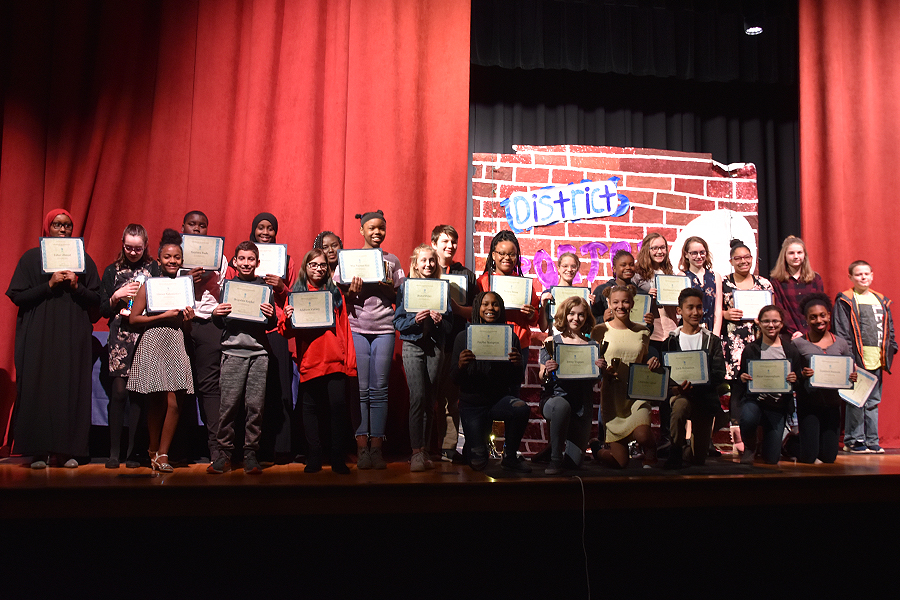 All-District Middle School Poetry Slam