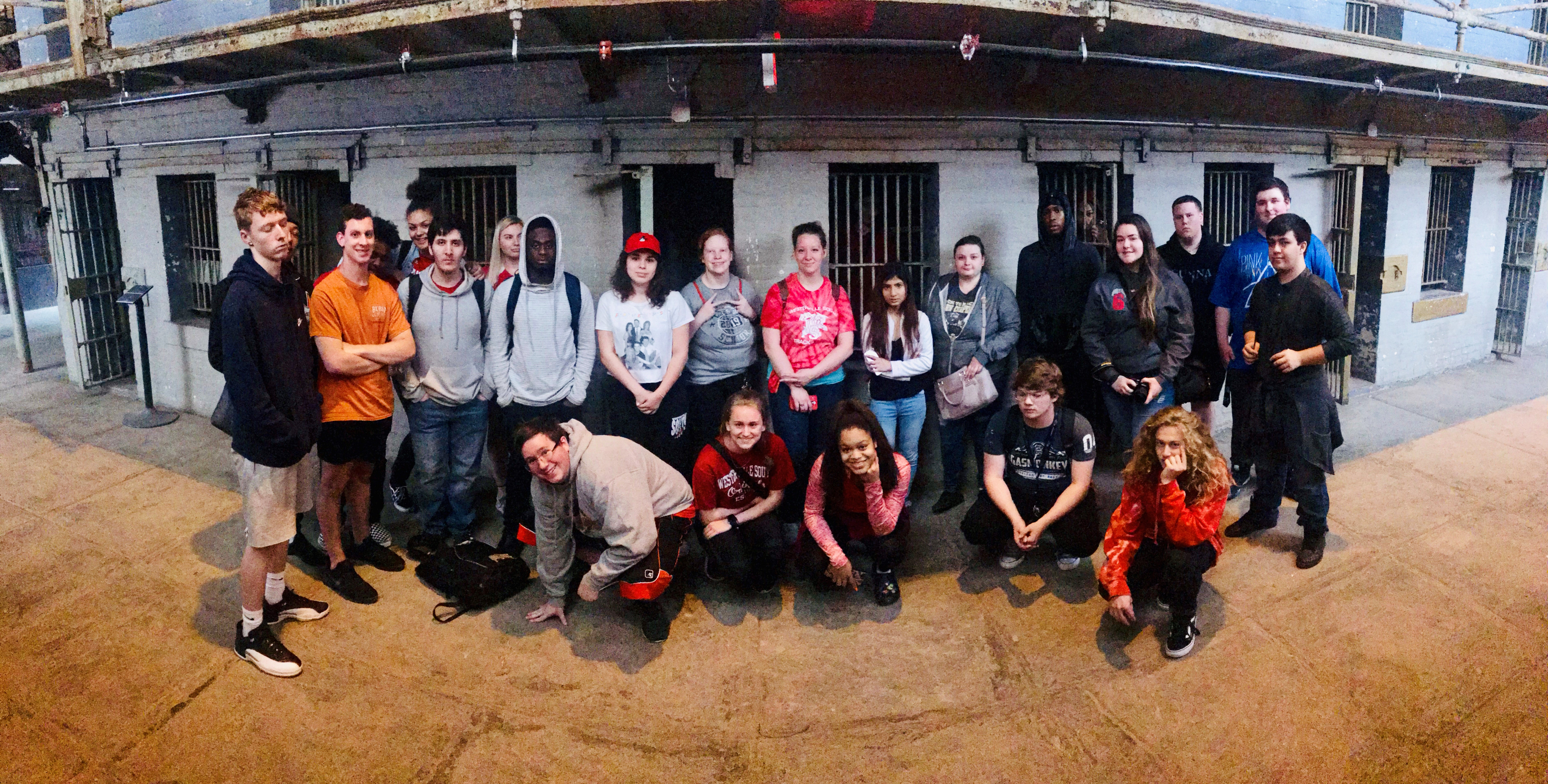 Students at the Ohio State Reformatory