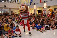 Special guest Brutus Buckeye