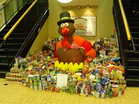 Alcott Food Drive Nets 3,369 Pounds of Food for WARM