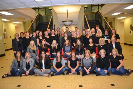 Alcott Building Staff Picture for the 2016-2017 School Year