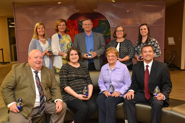 A+ Award winners were honored by the Board of Education.