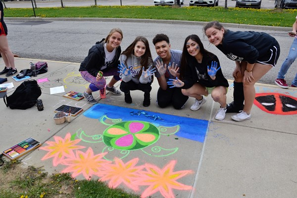 Westerville Central students enjoyed the 10th annual Arts Alive celebration.