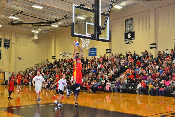 The Harlem Wizards took on the Wonders of Westerville.