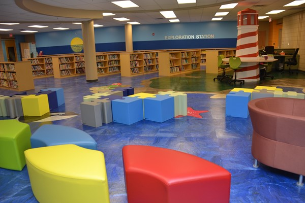 Extensive renovations have taken place at Pointview Elementary School.