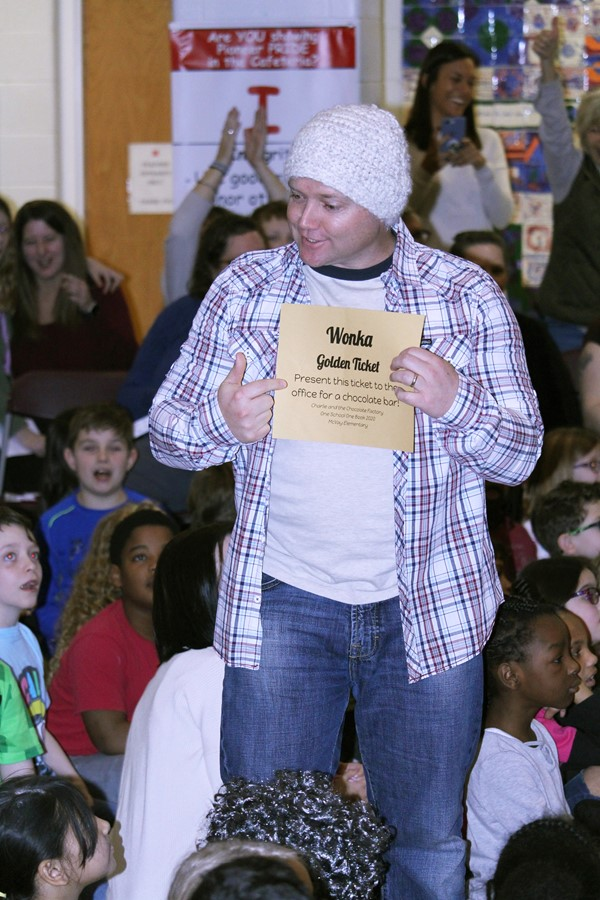 "McVay ""One School One Book"" Kickoff (January 24, 2020)"