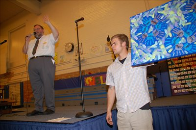 Approximately $13,000 was raised at the Hanby Arts Magnet School auction held on Sunday, March 29, where 9,037 items were up for bid.