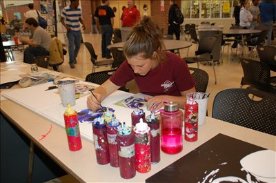 On April 9 Westerville Central High School hosted its third annual Arts Alive Festival, which featured a wide variety of art activities and performances.
