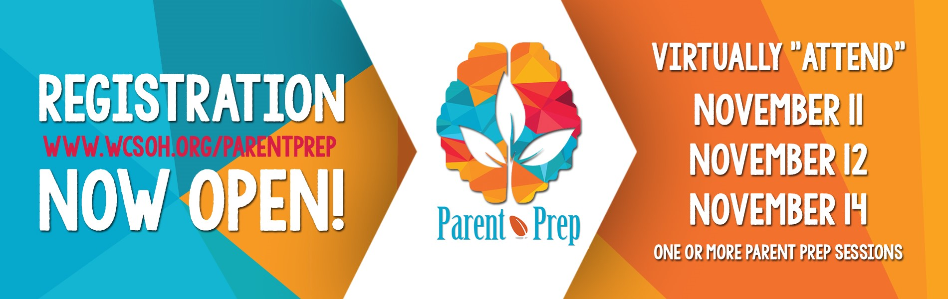 Learn more: www.WCSOH.org/ParentPrep