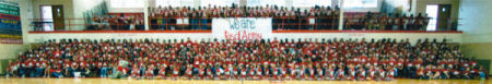 School spirit at WSHS: The Red Army!