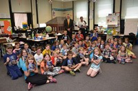 Rotarians Deliver Dictionaries to All Third Grade Students in Westerville