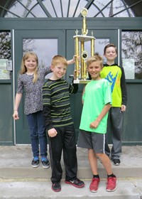 Emerson's Fifth Grade Students Earn Superior Rating at District Seven Science Day