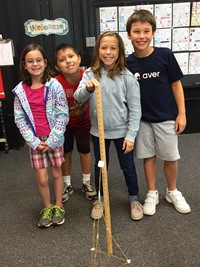 Marshmallows and Spaghetti Build Better Teams at Emerson Elementary School
