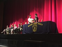 55 Westerville South Students Inducted into National Honor Society