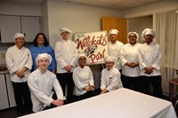 Culinary students from Delaware Area Career Center