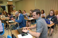 Educators train on technology