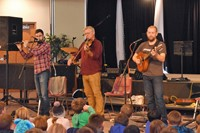 Ceol performed traditional Irish music.