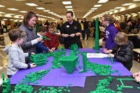 Columbus Ohio LEGO Users Club table