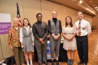 Rotary Students of the Month for November 2018