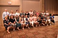 Group shot of Educators of the Year.