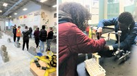 Sophomores Experience Columbus Career Centers