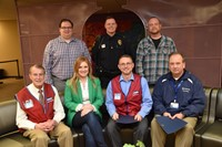 Representative from Lowe's, OhioHealth, Roush Hardware, Status Solutions and the City of Westerville Division of Police