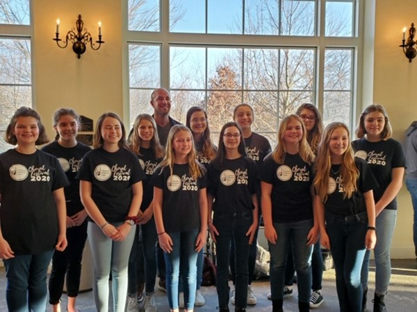 Blendon Middle School students perform in Honor Choir